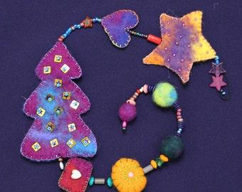 Magical Christmas Garland-enchanting Christmas garland l07