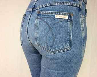 VINTAGE CK JEANS Waist : 28"