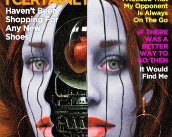"Fiona Apple ""Extraordinary Machine"" Psychology Today mashup print"