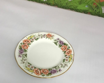 Vintage Bone China Duchess Side Plate