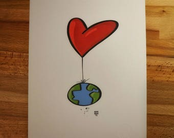 Love Saves the World