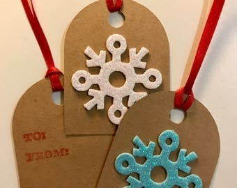 Holiday Gift Tags - 12 Pack