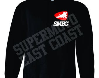 Basic SMEC logo pull-over sweatshirt