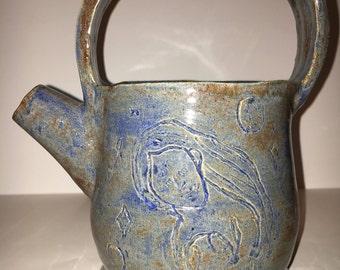 20oz handmade teapot