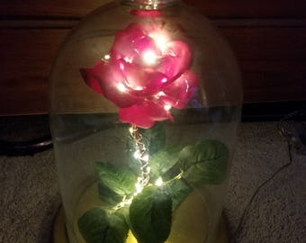 Beautiful Enchanted Rose Inspired by Beauty and the Beast