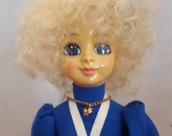 1986 July Brinns Musical Collector Doll Vintage