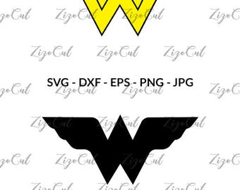 Wonder Woman SVG, Wonder Woman clipart.