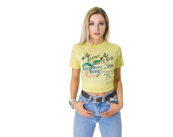 Vintage Country Music Show Yellow Tee