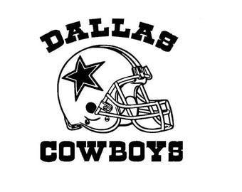 the gallery for gt dallas cowboys black and white