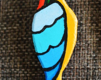 Pirate's Parrot Pin