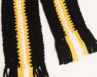Team Spirit Scarf [Crocheted Scarf]
