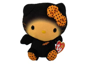 Ty Beanie Babies Hello Kitty - Halloween