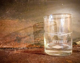KC-135 Personalized Etched Tumbler