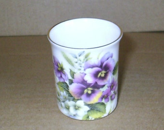 Pansy Small Vase