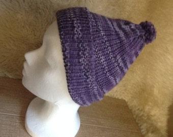 Child's Bobble hat / Beanie hat - pure wool