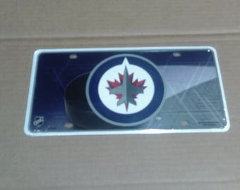 Winnipeg Jets License Plate