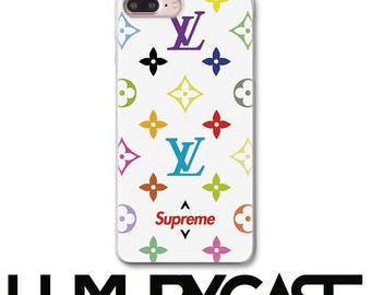 Louis Vuitton, iPhone 6S Case, iPhone 8 Plus Case, iPhone 7 Plus case, Supreme, iPhone 7 case, Supreme, LV, iPhone 8 Case, 258
