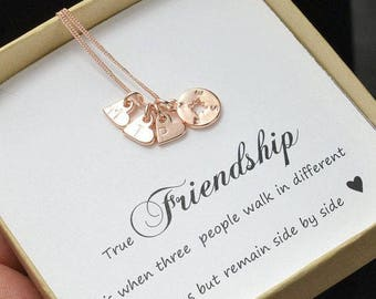 Personalized Compass Necklace Best Friend Gift  Best Friend Necklace  Friendship Necklace jewelry gift Compass Necklace Sisters Necklace