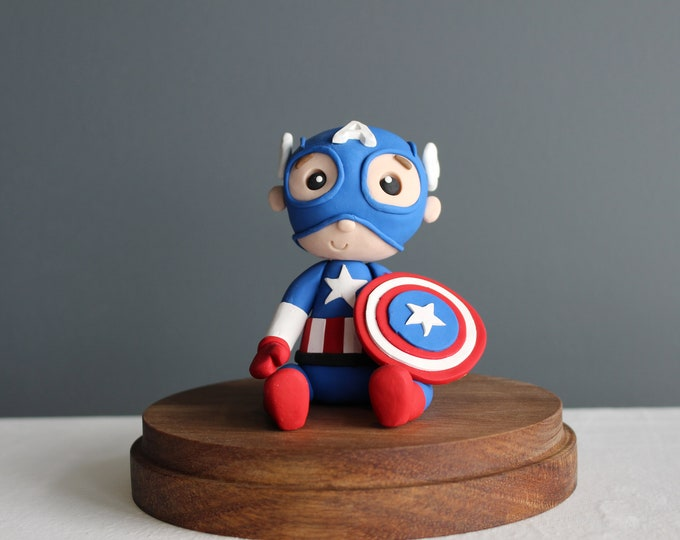 Captain America, Clay Model, Action Figure (Without Base)