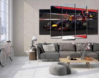 F1, Formula 1 print, Multi Panels Set, F1 wall decor, Formula 1  poster, Supercar print, Formula 1  wall art, Supercar art, gift for him