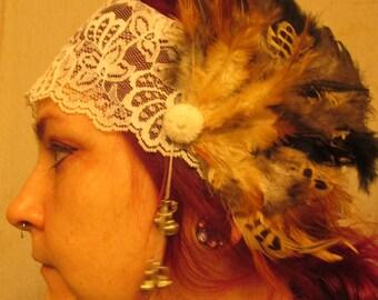 koyots tribal goddess belly-dance headdress
