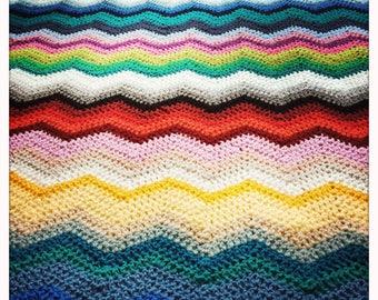 Rainbow Blanket 1.20 x 1.65