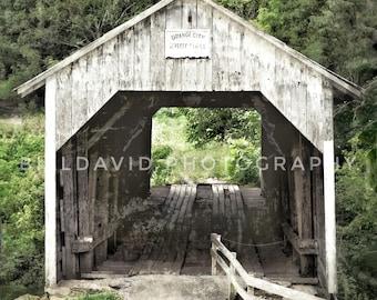 Grange City covered bridge