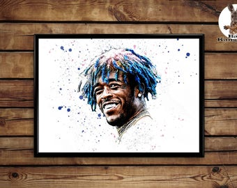 Lil Uzi Vert Print  wall art home decor poster
