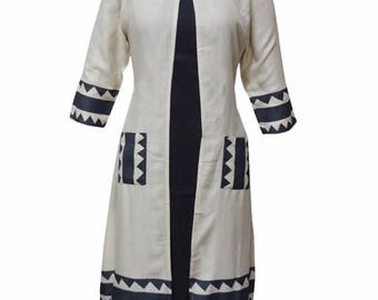 Cotton printed ethnic Kurti/Tunic | summer collection | high and low | classic look |