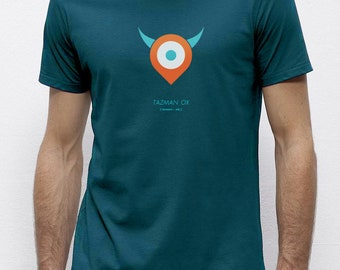 Tazman Ox Ocean   T-shirt   Eco-friendly