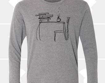 Sunday Morning - Unisex Long Sleeve Shirt
