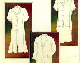 L. J. Designs KANISHA COLLECTION Tunic, Jacket, Duster Dress, Skirt ©1999