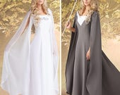 Simplicity Sewing Pattern 1551-Lord of the Rings, Maid Marian Ren Faire Costume Dress size 8-14