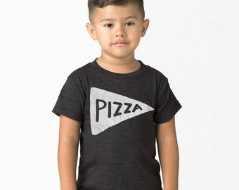NEW Kids Pizza Shirt Black, toddler christmas gift, girls christmas shirt, baby gift, kids graphic tee tmnt, funny tshirt, son daughter gift