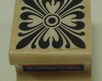 Filigree Corbel Wood Mounted Rubber Stamp From Combined Resources International Architectural Design