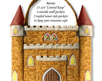 Castle Keeper Tote Pattern Downloadable PDF