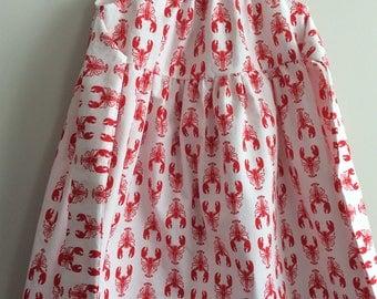 Lobster dress, size 3t