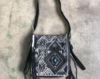 Bohobo Fringe messenger purse bag