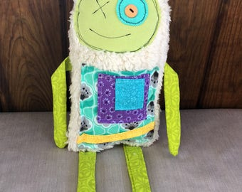 Monster Plush Toy, Plush Doll Toy, Monster Stuffed Animal, Plush Toys, Kids Plush Monster Toy Fabric Toys Plushies Animal Handmade Plush Toy