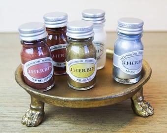 Pigmented Metallic Inks Set - 5 10ml Bottles
