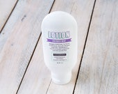 Lavender Mint Lotion   4 oz Lotion   Essential Oil Lotion   Purse Sized Lotion   Stocking Stuffer Lotion