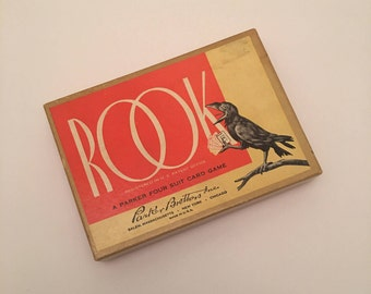 Complete ROOK Card Game - 1936 Edition