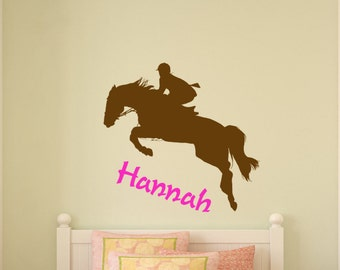 Horse decal-Horse sticker-Personalized decal-Horse wall decor-28 X 30 inches