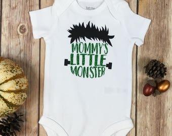 Mommy's Little Monster / Halloween Bodysuit / Kids Halloween / Infant Halloween / Halloween Costume / Toddler Costume / Halloween Gift