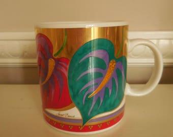 Laurel Burch ANTHURTUM Coffee Mug