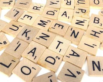 you pick / single letter / scrabble tiles / wood letter / A, B, C, D, E, F, G, H, I, J, K, L, M, N, O, P, Q, R, S, T, U, V, W, X, Y, Z