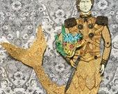 Menagerie Paper Doll - Jaime Lannister Merman
