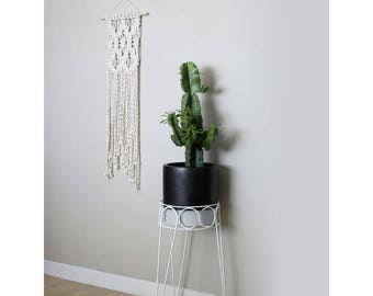 Macrame Wall Hanging with Pattern Detail