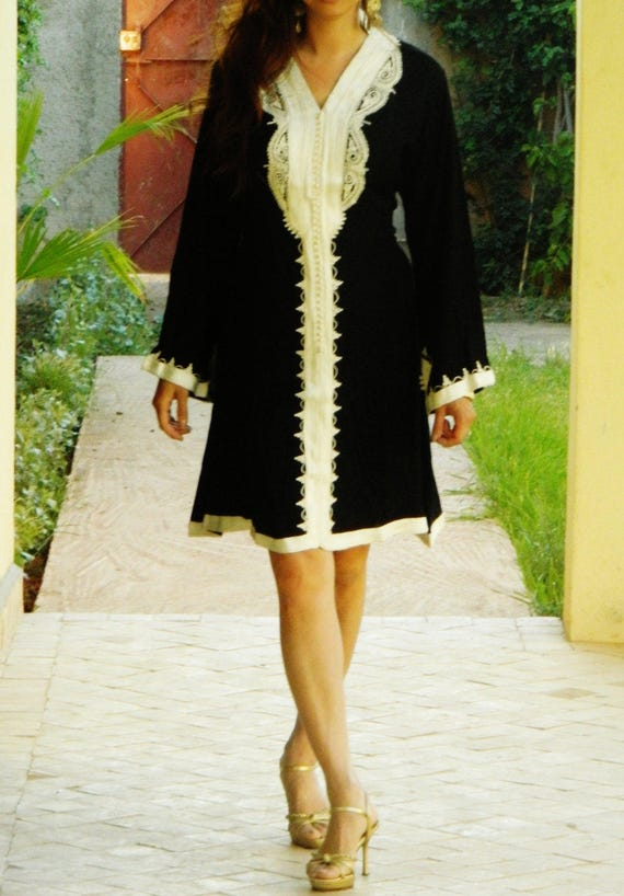 Black Marrakech Dress - perfect for resort wear, holidays, birthday gifts, resort wear