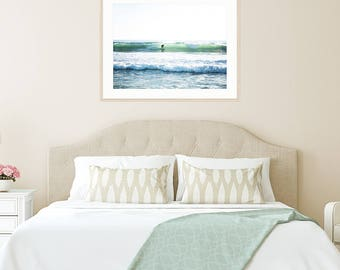 Surf Bedroom Wall Art, Surf Nursery, Beach Living, Surf Art, Surf Decor, Framed Wall Art, Surf Photography, Coastal Living